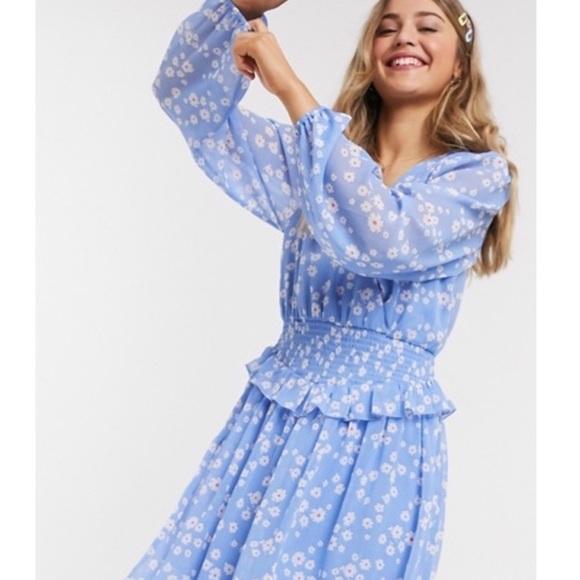 ASOS Dresses & Skirts - ASOS | Floral Smocked Dress